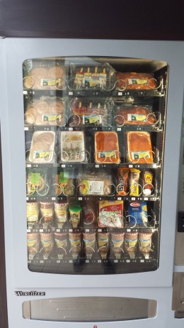 Automat mit Bratwürsten