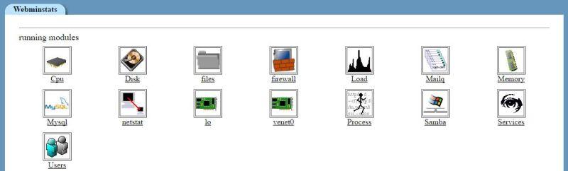 Webminstats daten