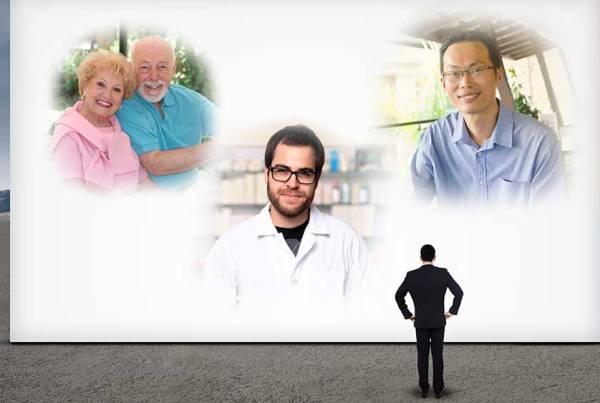 Professionals spotlighting four individuals