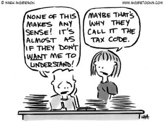 Powwow, LLC explains tax talk.