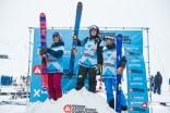 Podium Femmes Ski - ©Dom Daher