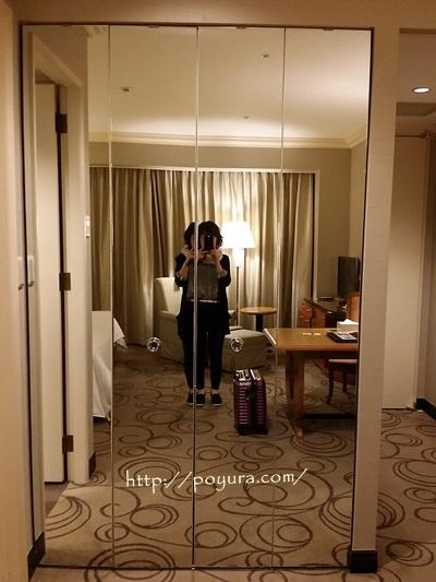 ウェスティンホテルのお部屋の感想
