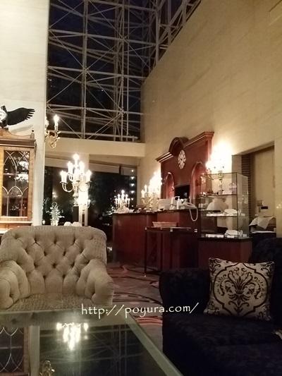 ウェスティン大阪ホテルロビー