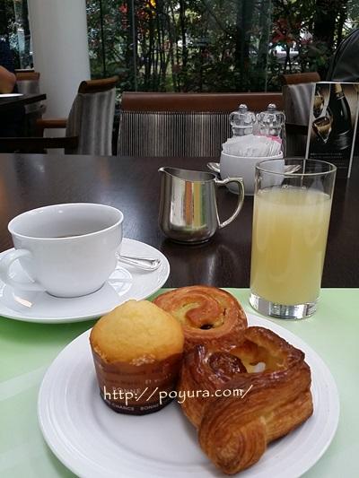 大阪のホテルの朝食