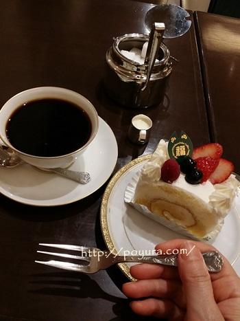 丸福珈琲店のケーキの感想