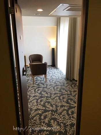 リーガロイヤルホテルのお部屋の感想