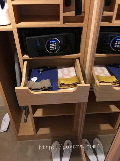 インターコンチネンタルホテル大阪宿泊記浴衣