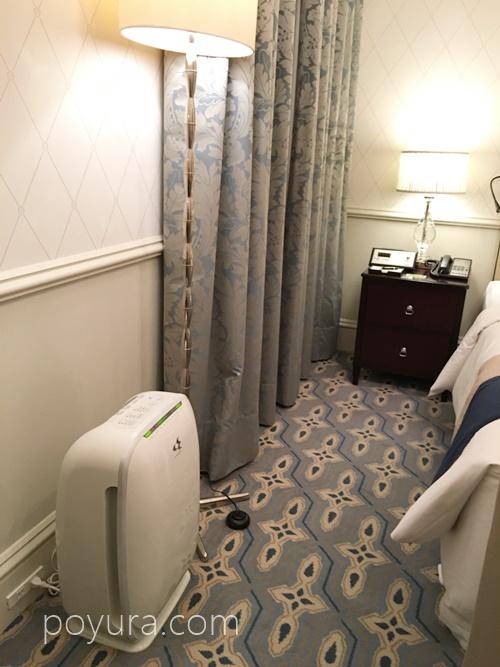 東京ステーションホテルの加湿器