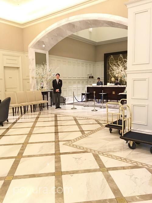 東京ステーションホテルフロント