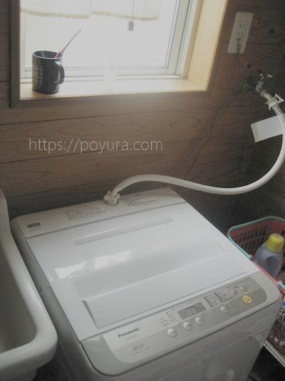 パナソニックの洗濯機に買い替え