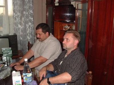13.2004 Z Siergiejem Łukianienko w Charkowie