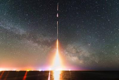 rakieta start nasa