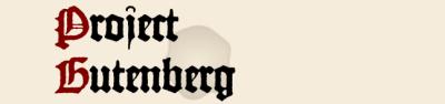 project gutenberg logo