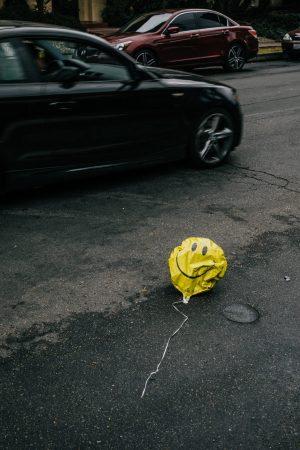 happy sad balloon