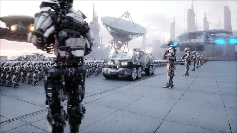 В корейскую армию «призовут» роботов!