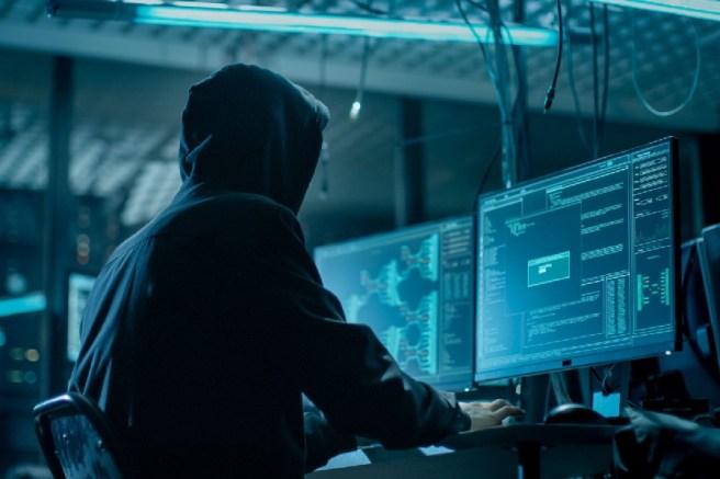 хакер за работой
