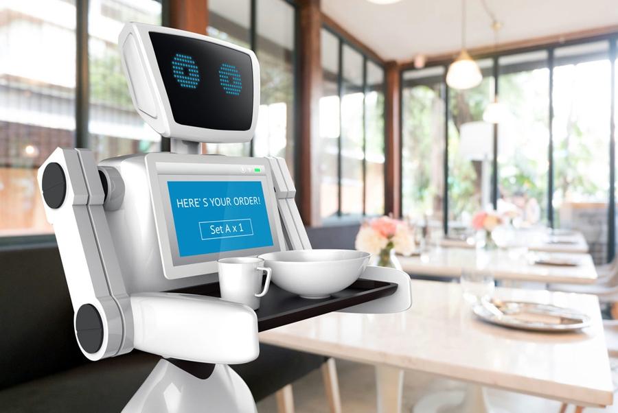 В Токио открывается необычное роботизированное кафе.