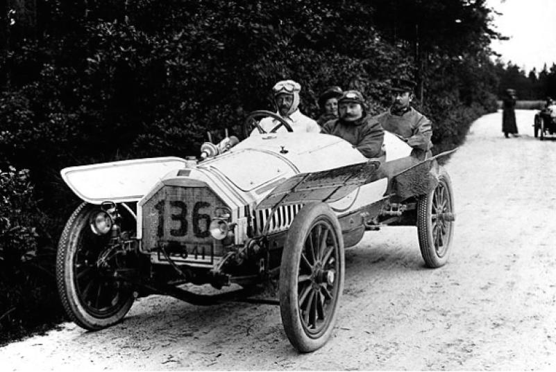 Audi Torpedo type E, 1924 г.
