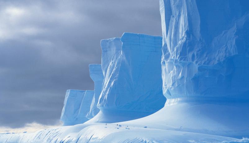 Ледяной континент.