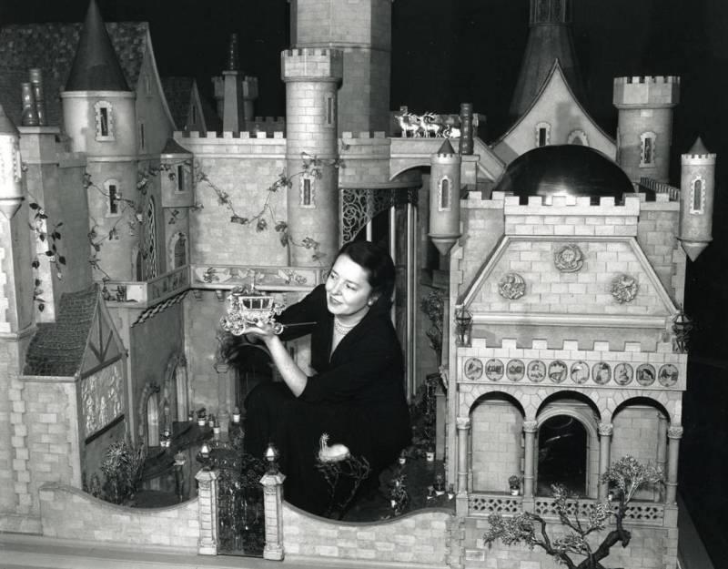 Замок Colleen Moore's.