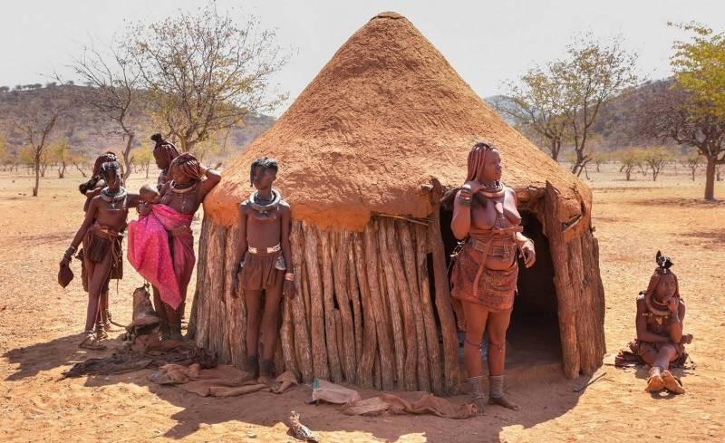 Африканское племя Химба. Намибия.