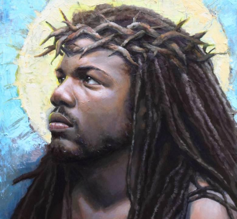 Чёрный Иисус Христос.