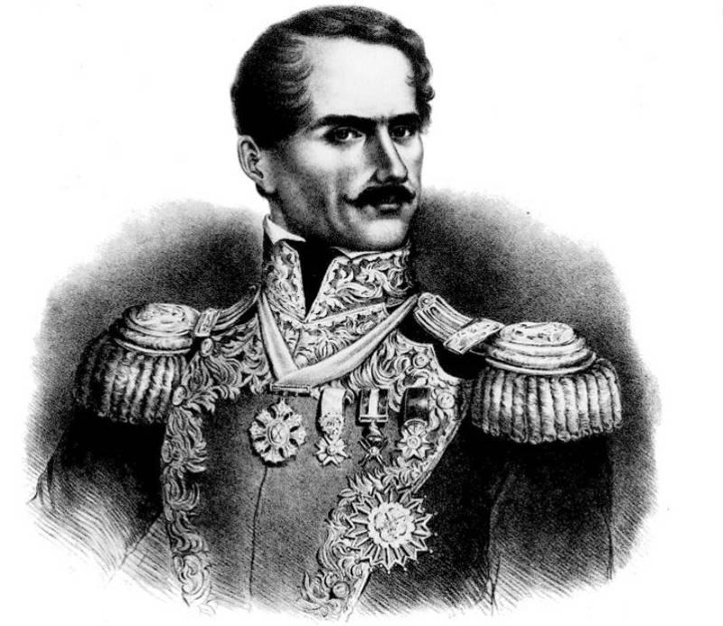 Лопес де Санта-Анна. Мексика.