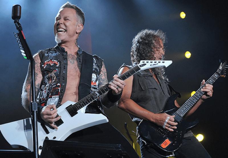Группа Metallica.