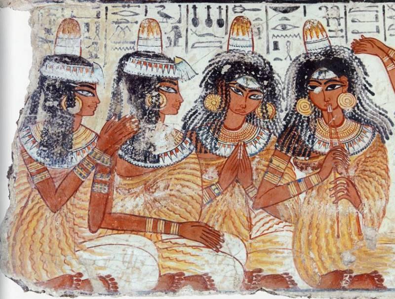 Древний Египет мода