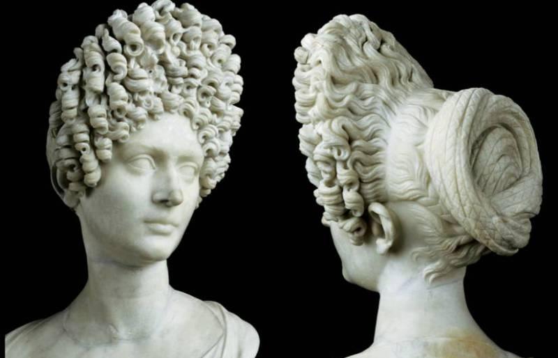 Древний Рим причёски