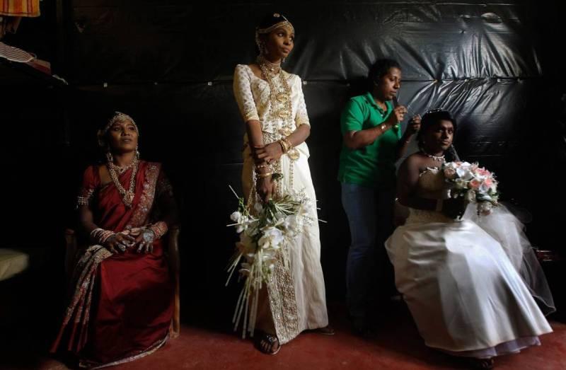 Свадьба традиции Шри-Ланка