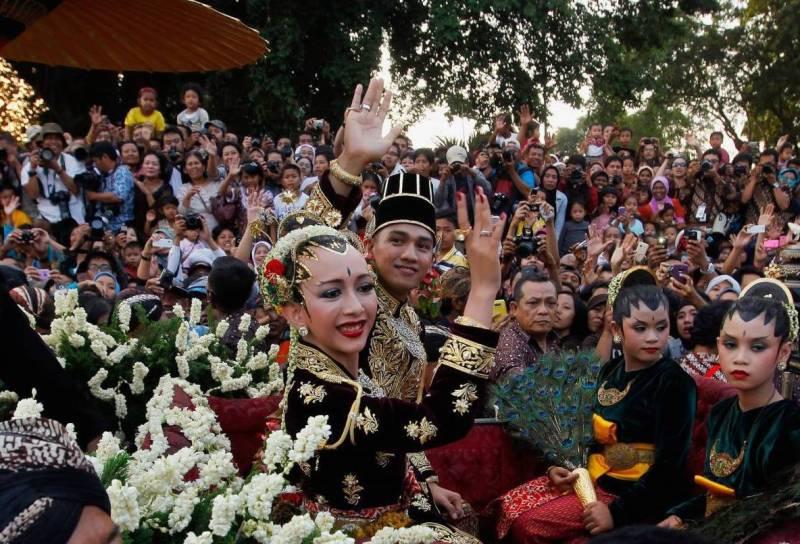 Свадьба в Индонезии фото