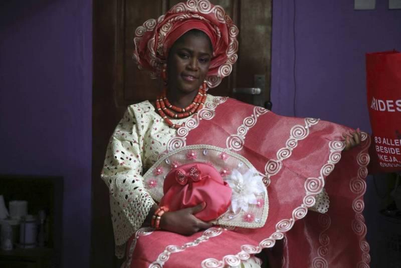 Костюм из нигерии