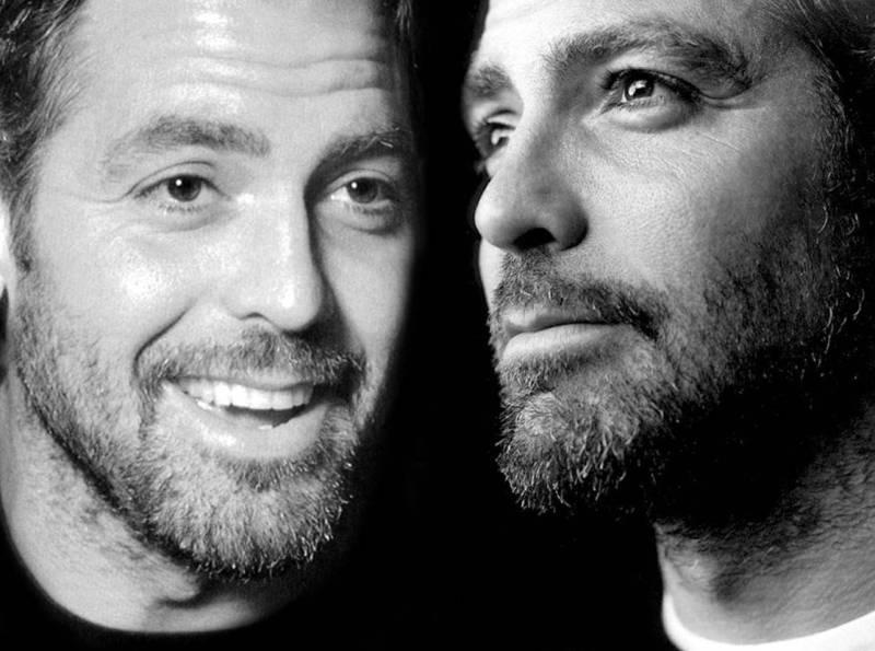 Бородатые мужчины Клуни