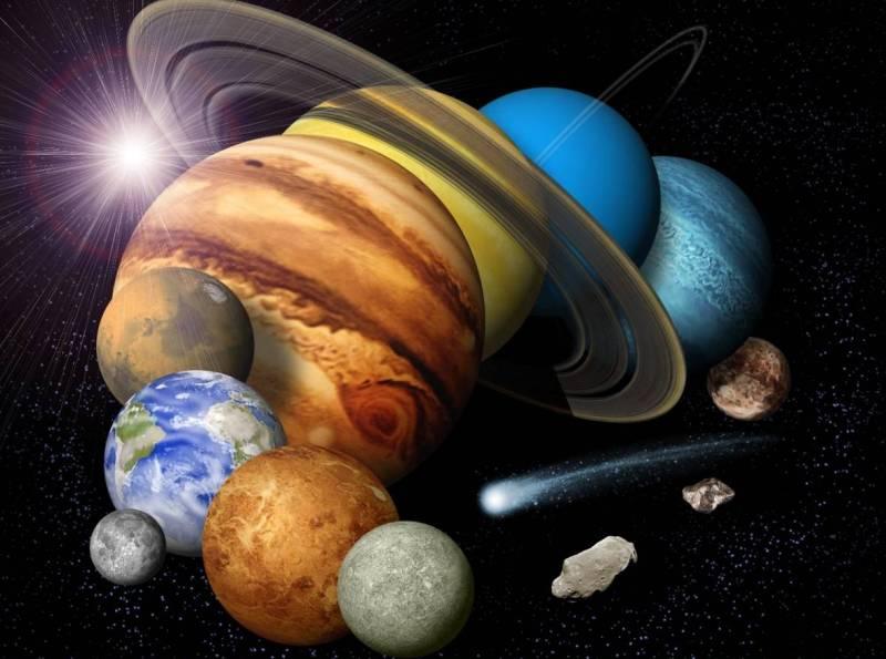фото планет и название планет