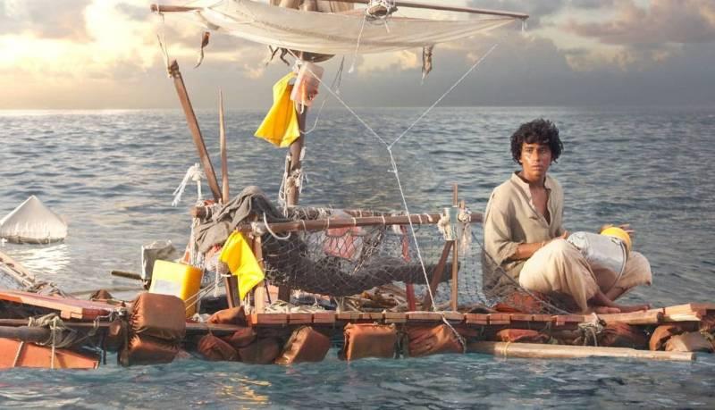 Жизнь Пи выжить в океане