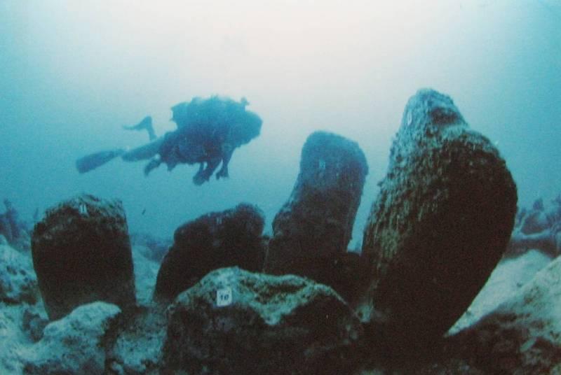 города ушедшие под воду Атлит-Ям