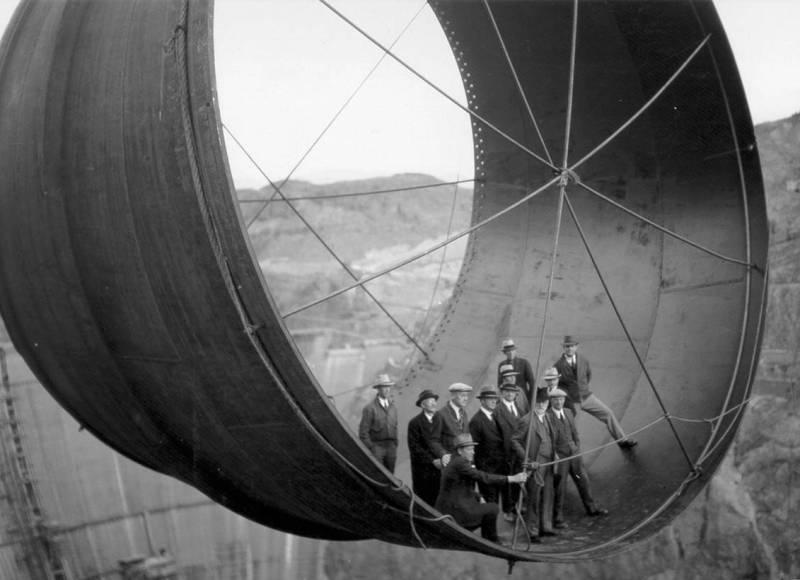 Плотина Гувера строительство