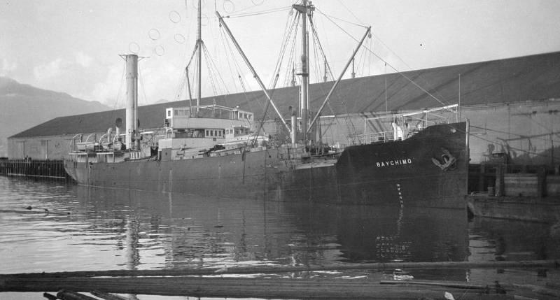 Корабль Бэйчимо призрак Арктики