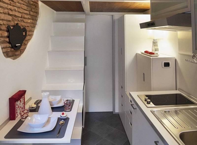 7 кв. метров квартира Рим