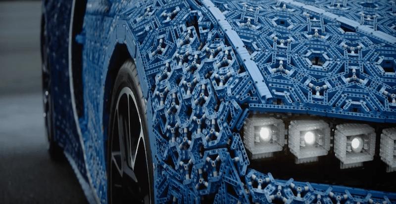 Настоящая машина из Лего