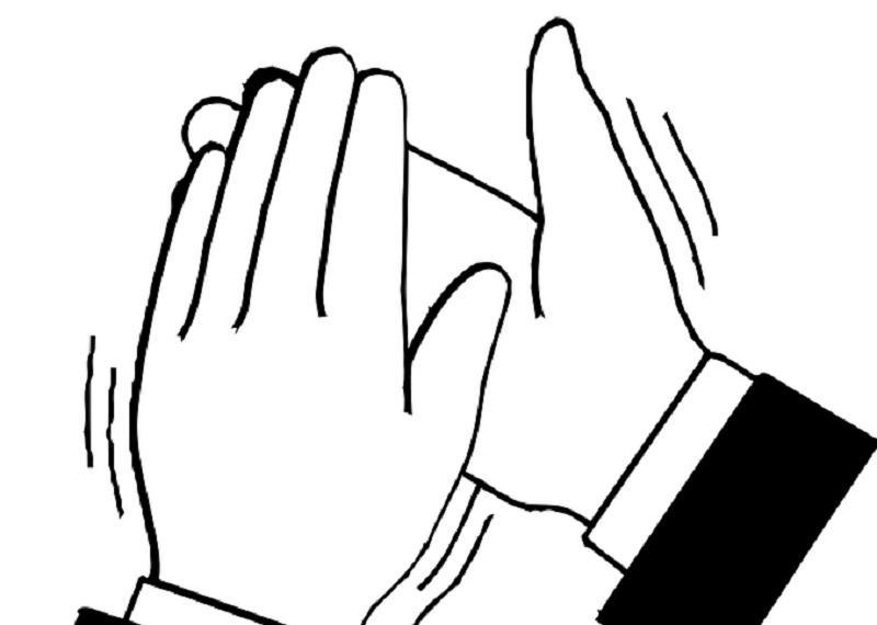 Аплодисменты - простой способ определить главную руку. Фотоисточник