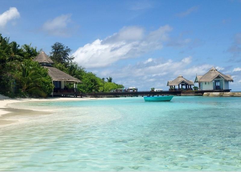 Пляж на Мальдивах. Фотоисточник