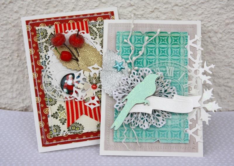 открытка своими руками, открытка на Новый год