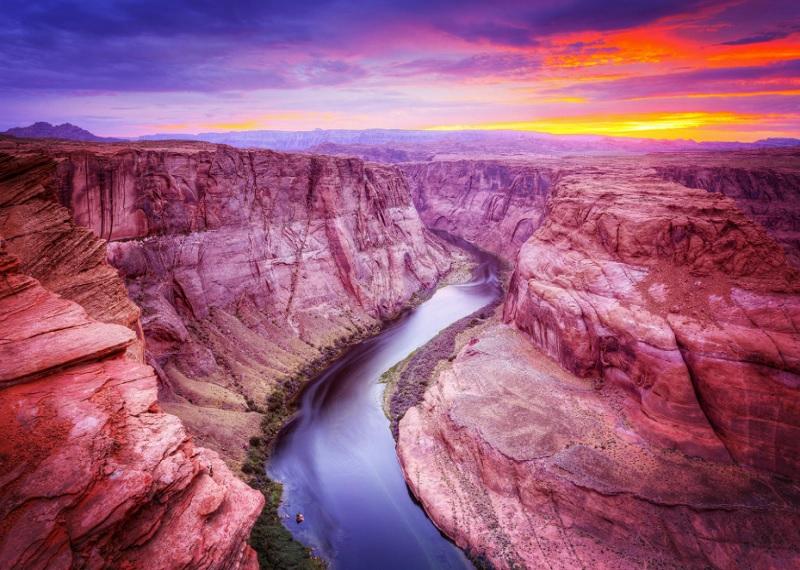Нижний Каньон Антилопы, каньоны Аризоны, достопримечательности США, чудеса природы