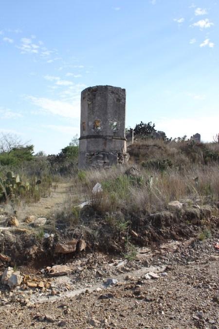 ruins in mineral de pozos
