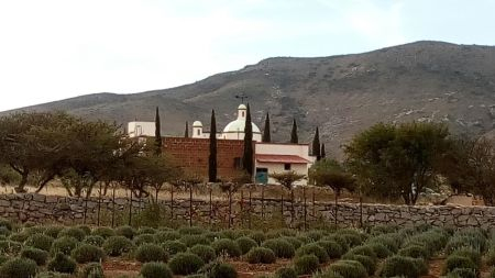 country house in mineral de pozos
