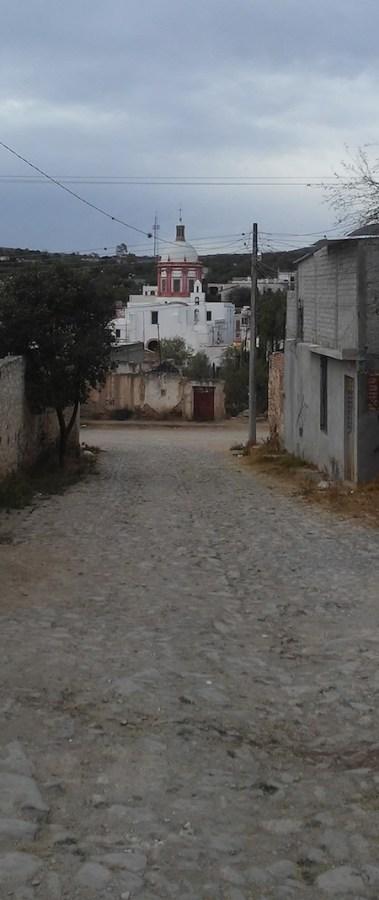 church view in mineral de pozos
