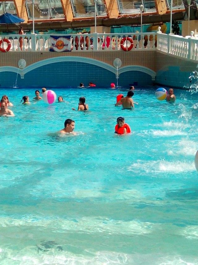 Аквапарк Карибия в Москве