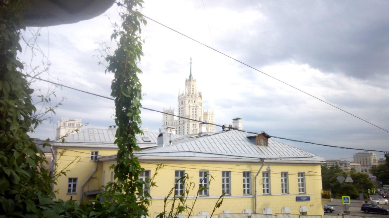 Москва, Яузский бульвар